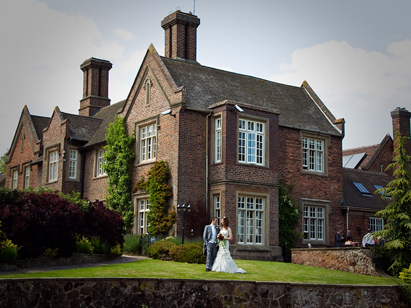 Wedding Photography at Dunsley Hall, Kinver, West Midlands by Adam Smith Wedding Photography