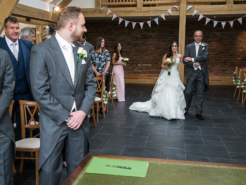 Wedding Photography at Mythe Barn, Pinwall Lane, Atherstone, Leicestershire by Adam Smith