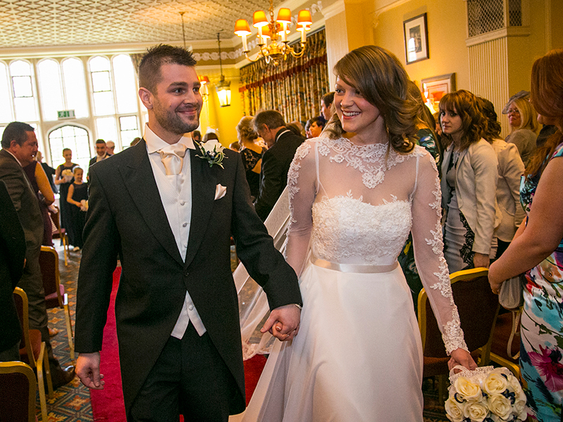 Wedding Photography at The Plough & Harrow Hotel, 135 Hagley Road, Birmingham by Adam Smith