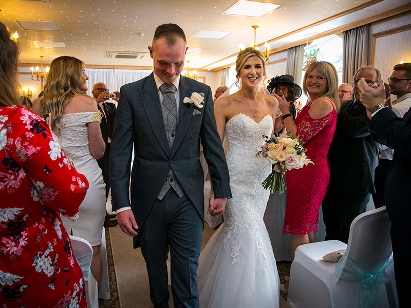 Wedding Photography at The Fairlawns Hotel, Little Aston Rd, Walsall by Adam Smith Wedding Photograp